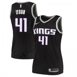 Nike Sacramento Kings Swingman Black Tyler Lydon Jersey - Statement Edition - Women's