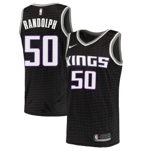 Nike Sacramento Kings Swingman Black Zach Randolph Jersey - Statement Edition - Men's