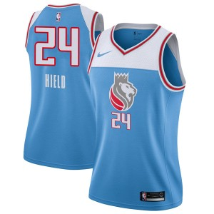 Nike Sacramento Kings Swingman Blue Buddy Hield Jersey - City Edition - Women's