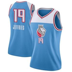 Nike Sacramento Kings Swingman Blue DaQuan Jeffries Jersey - City Edition - Women's