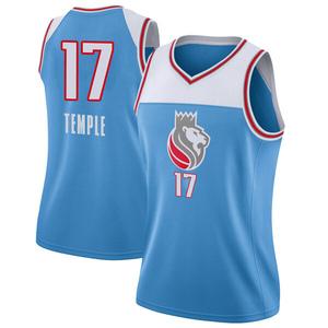 Nike Sacramento Kings Swingman Blue Garrett Temple Jersey - City Edition - Women's