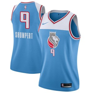 Nike Sacramento Kings Swingman Blue Iman Shumpert Jersey - City Edition - Women's