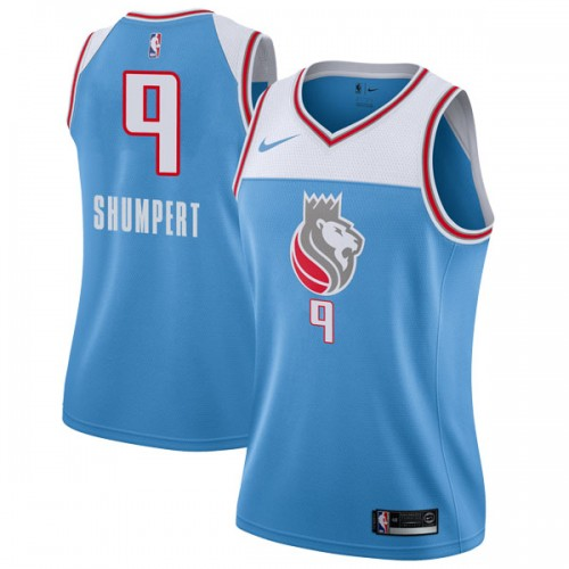Nike Sacramento Kings Swingman Blue Iman Shumpert Jersey - City Edition - Women's