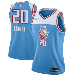 Nike Sacramento Kings Swingman Blue Jordan Farmar Jersey - City Edition - Women's