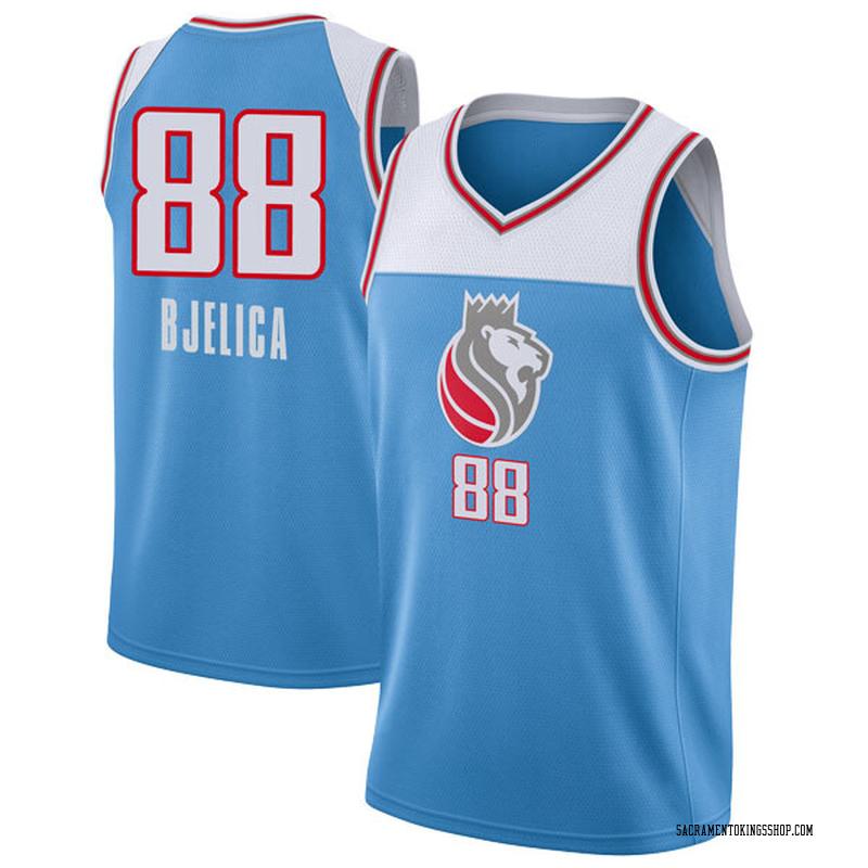 Nike Sacramento Kings Swingman Blue Nemanja Bjelica Jersey - City Edition - Youth