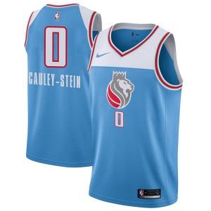 Nike Sacramento Kings Swingman Blue Willie Cauley-Stein Jersey - City Edition - Men's