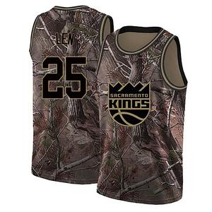 Nike Sacramento Kings Swingman Camo Alex Len Custom Realtree Collection Jersey - Men's
