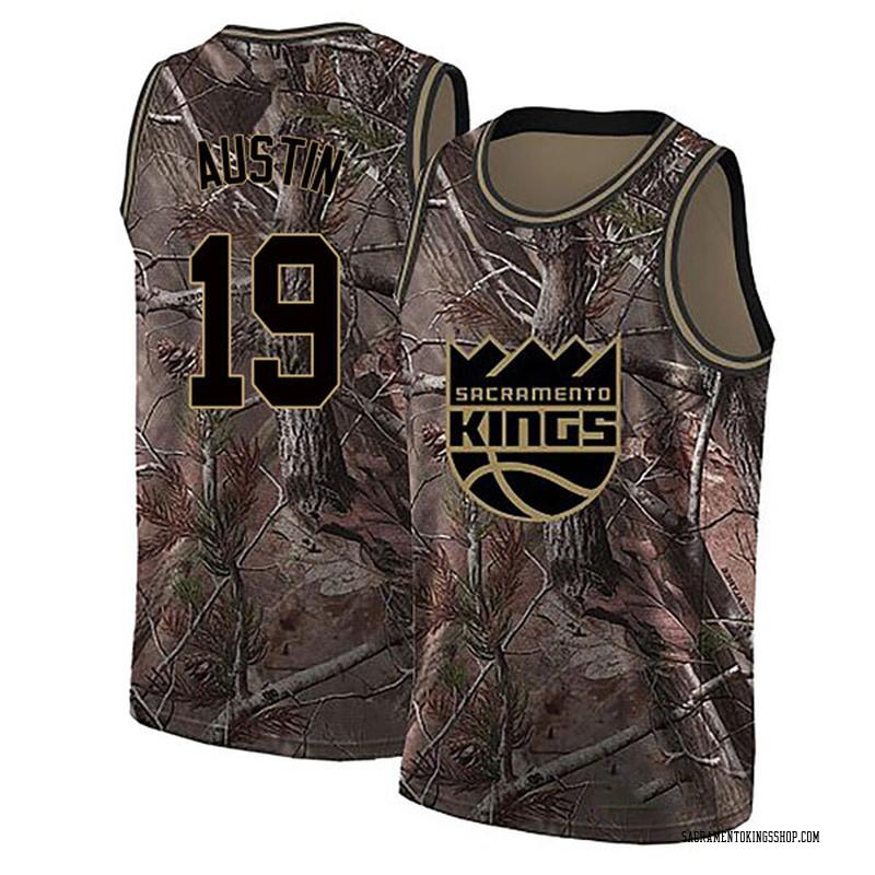 Nike Sacramento Kings Swingman Camo Brandon Austin Realtree Collection Jersey - Men's