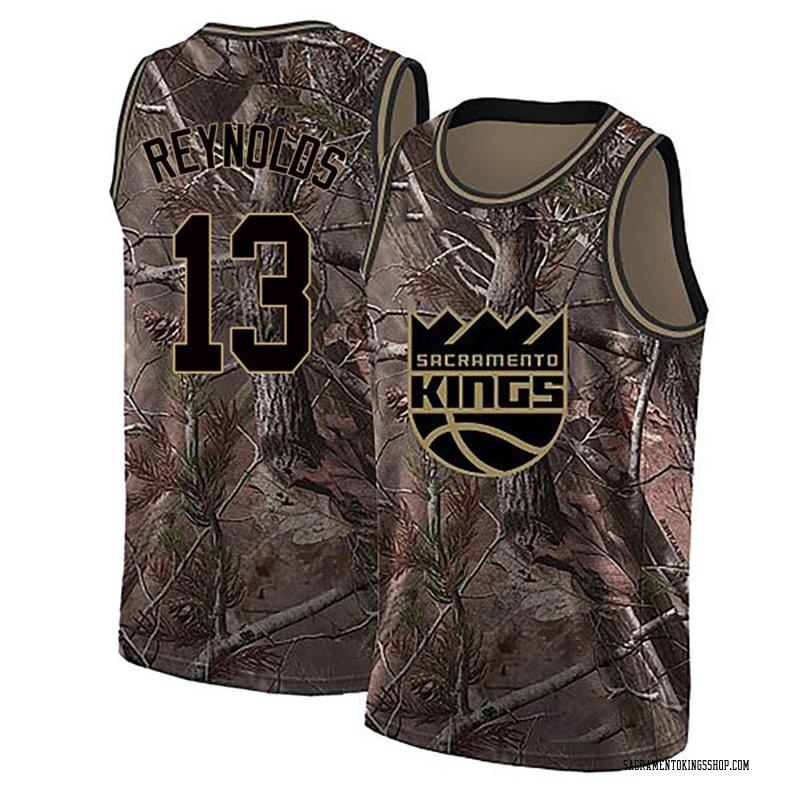 Nike Sacramento Kings Swingman Camo Cameron Reynolds Realtree Collection Jersey - Youth
