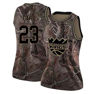 Nike Sacramento Kings Swingman Camo Deyonta Davis Realtree Collection Jersey - Women's