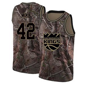 Nike Sacramento Kings Swingman Camo Eric Mika Realtree Collection Jersey - Men's