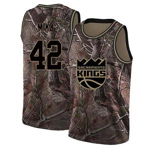 Nike Sacramento Kings Swingman Camo Eric Mika Realtree Collection Jersey - Youth