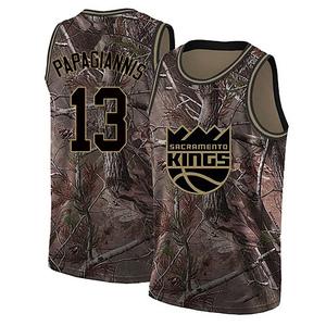 Nike Sacramento Kings Swingman Camo Georgios Papagiannis Realtree Collection Jersey - Youth