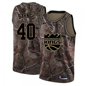Nike Sacramento Kings Swingman Camo Harrison Barnes Realtree Collection Jersey - Men's