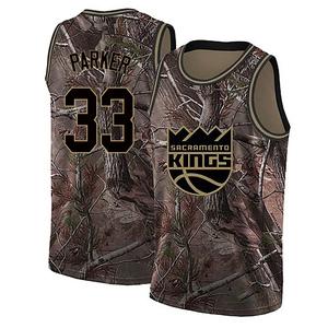 Nike Sacramento Kings Swingman Camo Jabari Parker Custom Realtree Collection Jersey - Men's
