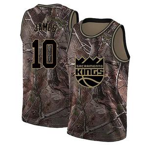 Nike Sacramento Kings Swingman Camo Justin James Realtree Collection Jersey - Men's