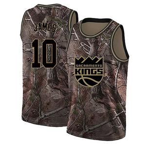 Nike Sacramento Kings Swingman Camo Justin James Realtree Collection Jersey - Youth