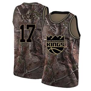 Nike Sacramento Kings Swingman Camo Kalin Lucas Realtree Collection Jersey - Youth