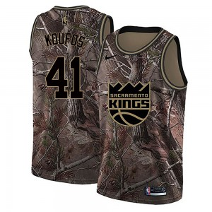 Nike Sacramento Kings Swingman Camo Kosta Koufos Realtree Collection Jersey - Men's