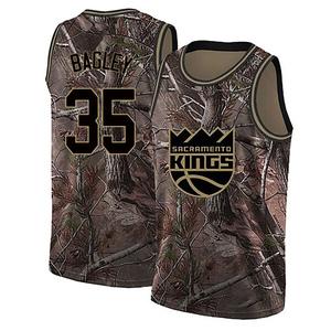Nike Sacramento Kings Swingman Camo Marvin Bagley III Realtree Collection Jersey - Youth