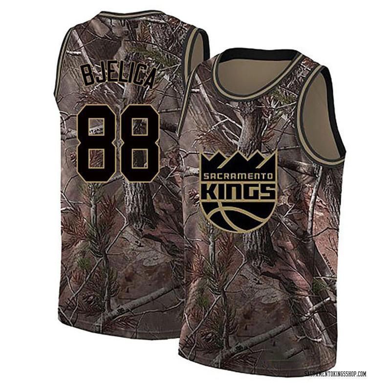 Nike Sacramento Kings Swingman Camo Nemanja Bjelica Realtree Collection Jersey - Men's