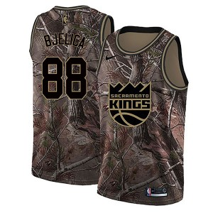 Nike Sacramento Kings Swingman Camo Nemanja Bjelica Realtree Collection Jersey - Youth
