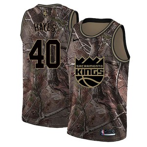 Nike Sacramento Kings Swingman Camo Nigel Hayes Realtree Collection Jersey - Men's