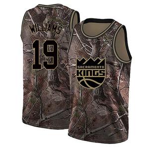 Nike Sacramento Kings Swingman Camo Troy Williams Realtree Collection Jersey - Men's