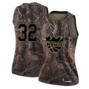 Nike Sacramento Kings Swingman Camo Wenyen Gabriel Realtree Collection Jersey - Women's