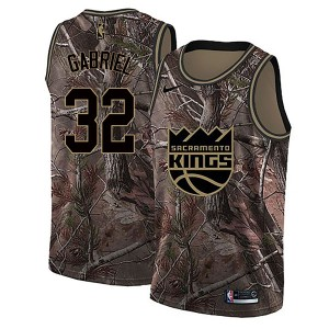 Nike Sacramento Kings Swingman Camo Wenyen Gabriel Realtree Collection Jersey - Youth