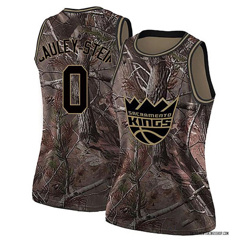 Nike Sacramento Kings Swingman Camo Willie Cauley-Stein Realtree Collection Jersey - Women's