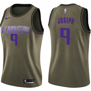 Nike Sacramento Kings Swingman Green Cory Joseph Salute to Service Jersey - Women's
