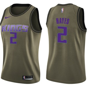 Nike Sacramento Kings Swingman Green Nigel Hayes Salute to Service Jersey - Women's