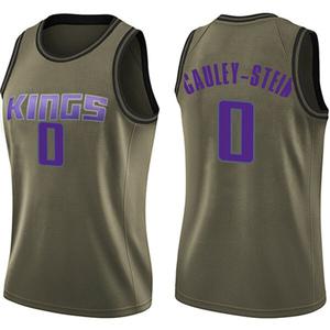 Nike Sacramento Kings Swingman Green Willie Cauley-Stein Salute to Service Jersey - Women's