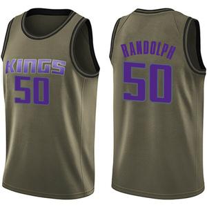 Nike Sacramento Kings Swingman Green Zach Randolph Salute to Service Jersey - Men's