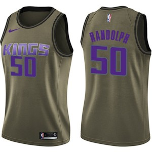 Nike Sacramento Kings Swingman Green Zach Randolph Salute to Service Jersey - Women's