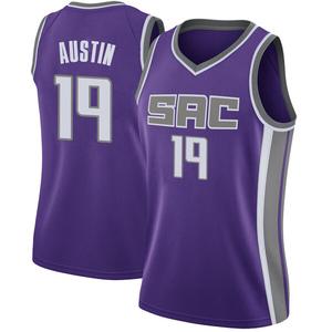 Nike Sacramento Kings Swingman Purple Brandon Austin Jersey - Icon Edition - Women's
