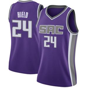Nike Sacramento Kings Swingman Purple Buddy Hield Jersey - Icon Edition - Women's