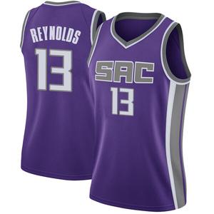 Nike Sacramento Kings Swingman Purple Cameron Reynolds Jersey - Icon Edition - Women's