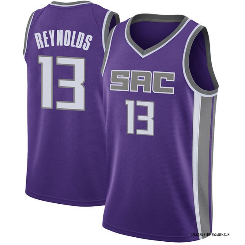 Nike Sacramento Kings Swingman Purple Cameron Reynolds Jersey - Icon Edition - Youth