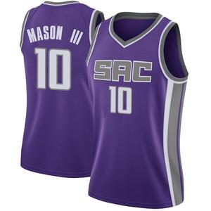 Nike Sacramento Kings Swingman Purple Frank Mason III Jersey - Icon Edition - Women's