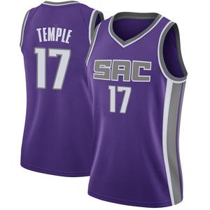 Nike Sacramento Kings Swingman Purple Garrett Temple Jersey - Icon Edition - Women's