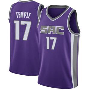 Nike Sacramento Kings Swingman Purple Garrett Temple Jersey - Icon Edition - Youth
