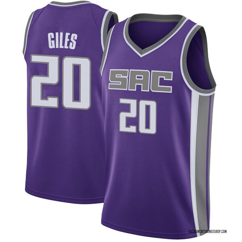 Nike Sacramento Kings Swingman Purple Harry Giles Jersey - Icon Edition - Youth