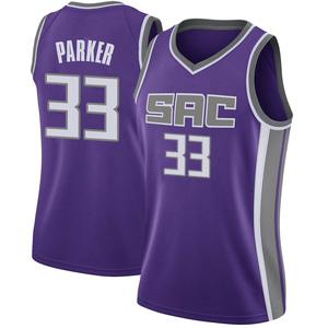 Nike Sacramento Kings Swingman Purple Jabari Parker Jersey - Icon Edition - Women's