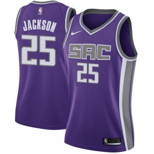 Nike Sacramento Kings Swingman Purple Justin Jackson Jersey - Icon Edition - Women's