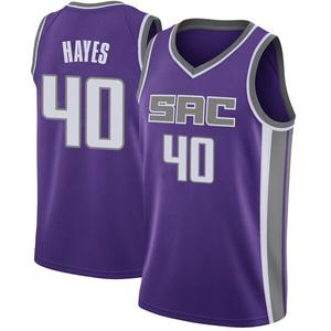 Nike Sacramento Kings Swingman Purple Nigel Hayes Jersey - Icon Edition - Men's