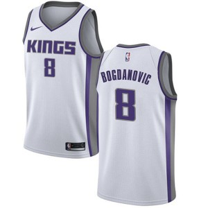 Nike Sacramento Kings Swingman White Bogdan Bogdanovic Jersey - Association Edition - Men's