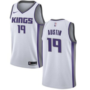 Nike Sacramento Kings Swingman White Brandon Austin Jersey - Association Edition - Men's