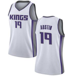 Nike Sacramento Kings Swingman White Brandon Austin Jersey - Association Edition - Women's